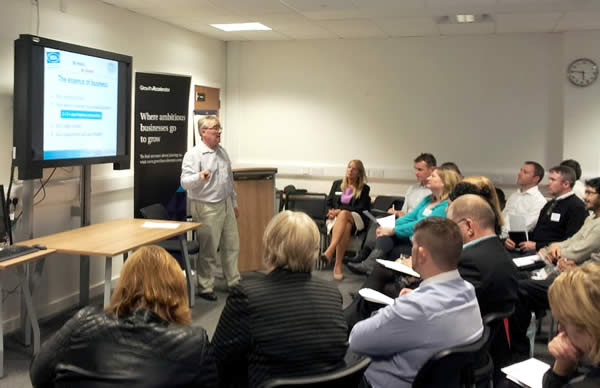 David Wright of BSA Marketing presents 'Planning for Growth'