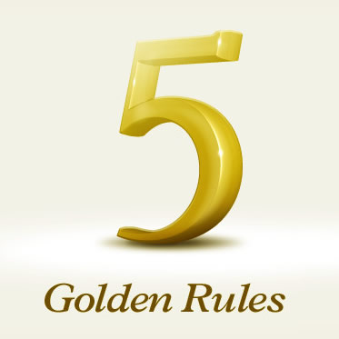 5 Golden Rules for Effective E-Mail Marketing
