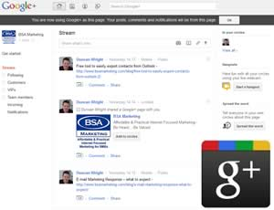 Company focussed 'Pages' Launch on Google+