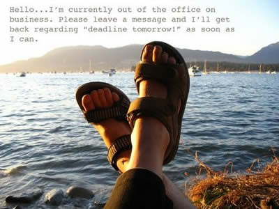 Out of Office….Too Late?