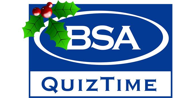BSA Marketing Christmas Quiz 2016
