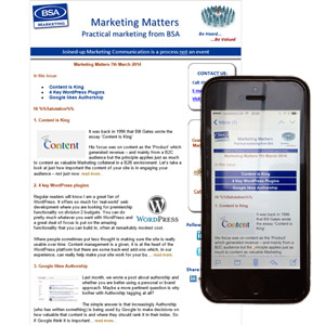 Marketing Matters Goes Responsive