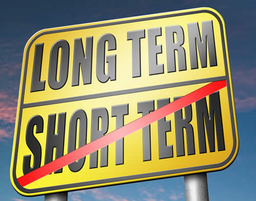 Short Term or Long Term? Choose Wisely